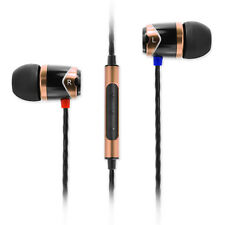SoundMAGIC E10C In Ear Isolating Earphones with Mic - Black & Gold- NEW