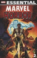 Essential Marvel Horror, Vol. 2 (Marvel Essentials) (v. 2)-ExLibrary