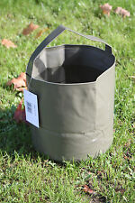 10L Folding Water Bucket - Packs Small - Camping - Green - Fishing - Collapsable