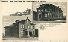 Sacred Heart of Jesus Rectory & Sisters Home, South Lincoln St, Chicago IL 1945
