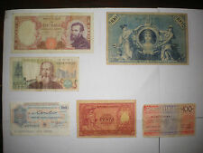 COLLEZIONE VECCHIE BANCONOTE - COLLECTION OLD MONEY