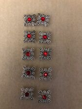 NEW - CRYSTAL INNOVATIONS SWAROVSKI BUTTERFLY SIAM SLIDES - 10 PCS