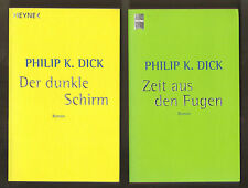 PHILIP K. DICK: A Scanner Darkly + Time Out of Joint [in German]