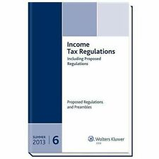 Income Tax Regulations, Summer 2013 Edition (6 volume set)), CCH Tax Law Editors