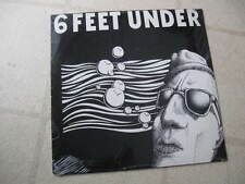 6 FEET UNDER 1989 spaghetti face NEW/SEALED ORGNL CT HC PUNK 14-SONG ANTHRAX LP