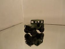 1990's Matchbox Jeep 4x4 MB20 - Army W/ Star Tampos - Mint Loose 1/59 Scale