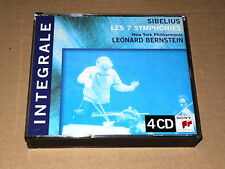 BERNSTEIN/SIBELIUS/The 7 Symphonies/Box 4 CD SONY