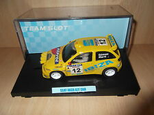 Scalextric Team slot Seat ibiza Kit Car # 10304 resin Car