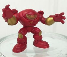 Marvel Super Hero Squad HULKBUSTER IRON MAN Red Gold from Wave 1 Hall of Armor