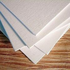 "12 PACK Canvas 8"" x10"" Panels Mounted Blank Cotton Stretched Painting Artist Art"