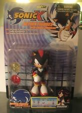 Sonic X The Hedgehog Shadow Action Figure With Chaos Emeralds Toy Island New