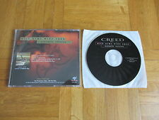CREED With Arms Wide Open - Acoustic Version 2000 USA collectors CD single