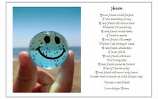 Personalised FRIENDS Poem Gift - A Gift for my BEST FRIEND -  SMILE :)