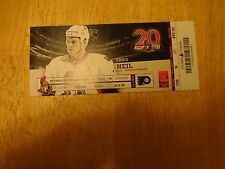 Harry Zolnierczyk  1st NHL Game & Goal Ticket   Free s/h
