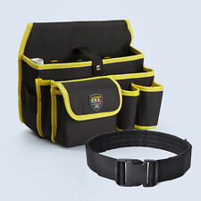 Practical Tools Waist Bag Durable Multi-Pocket Electrician Tool Storage Pouch
