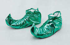 VERDE MEDIEVALE COURT JESTER SHOE COVERS ELF PETER PAN JOKER Pixie FANCY DRESS