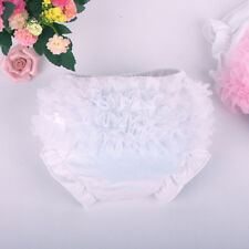 Toddler Baby Girl Ruffle PP Pants Bow Bloomers Diaper Nappy Cover Panties 3-24M