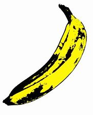 STAMPA SU TELA CANVAS Warhol Andy  BANANA 90x90 POP ART DESIGN WARHOL