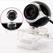 New 30.0 Mega Pixel USB Webcam Web Camera for Laptop PC Computer Black GA