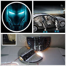 2 Pcs 3D Iron Man Emblem Automobile Door Welcome LED Projector Laser Lights Lamp