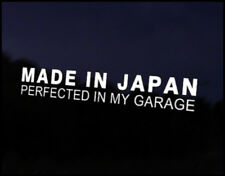 Made in Japan Car Vinyl Decal Sticker Mazda Nissan Honda Toyota Suzuki Subaru