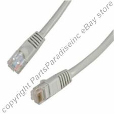 Lot40 10ft RJ45Cat5e Ethernet Lan Cable/Cord/Wire{GREY{F