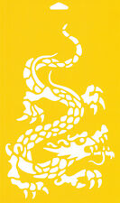 Flexible Reusable Stencil Cake Wall Airbrush Drawing Template Chinese Dragon