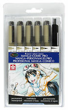 Sakura Manga-Comic Pro Micron Pigma Brush Pencil Set SAK-50201