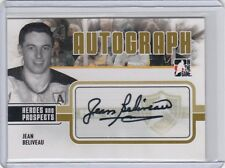 2009-10 Jean Beliveau  ITG Heroes and Prospects Autographs #AJBE Auto