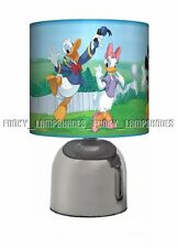 MICKEY MOUSE CLUBHOUSE ☆ BLUE BEDSIDE TOUCH LAMP ☆ BOYS NIGHT LIGHT