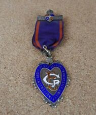 silver Independent Order of Oddfellows Manchester unity masonic uninscribed