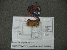 Galaxy LT-2-99 Echo / Voice-Changer / Robot Board with Instruction  DX99 board