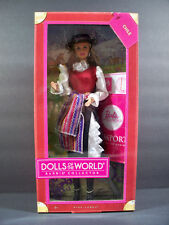 NIB BARBIE DOLL 2011 CHILE DOLLS OF THE WORLD PINK LABEL