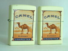 CAMEL ZIPPO  LIGHTER CAMEL ORIGINAL PACK DESIGN # 1  2 SIDED IMPRINT    CZ # 856