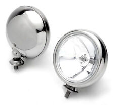 BMW MINI SPOT LIGHTS BRUSHED STAINLESS STEEL - SHINE LIKE CHROME
