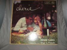 "Renee LeBas ""Cherie I Love You"" SINGS IN FRENCH MERCURY LP #MG-20240"