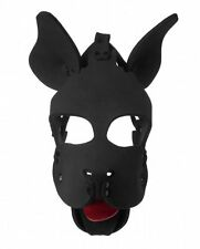 DOG HOOD Neoprene face mask full cover headwear muzzle adult halloween costume