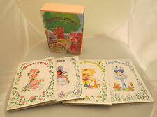 Rose Petal Place boxed set of 4 small photo albums