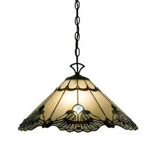 Tiffany Style Hanging Lamp Ceiling Chandelier Fixture Stained Glass Shade Light