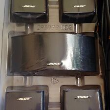 5 Bose Jewel Double Cube Speakers w/ Center Channel (horizontal) + Original Box