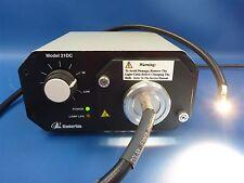 StockerYale TechniQuip 21DC Fiber Optic Light Source w/ Lamp | Tested!