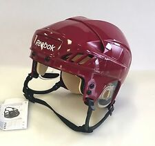 New Reebok 4K NHL/AHL Pro Stock/Return crimson medium M size ice hockey helmet