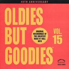 ART LABOE OLDIES BUT GOODIES VOL.15 CD - ORIGINAL SONGS & ARTISTS - NEW