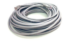 50 Foot Molded Grey Cat5e Ethernet Network Cable - 50' Feet Gold Plated RJ45 Jac