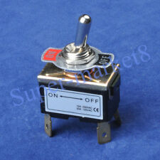2PC Heavy Duty ON-OFF 4pin Toggle Switch Tube Amp Guitar Amp 250V15A,125V20A