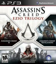 Assassin's Creed: Ezio Trilogy - Playstation 3 Game