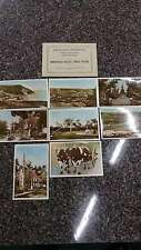 Set of 8 Annapolis Valley Canada with Folder Real Photo Antique PC J39641