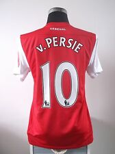 v. PERSIE #10 Arsenal Home Football Shirt Jersey 2011/12 (M)