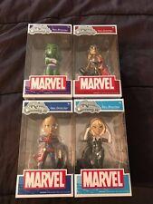 Set of 4 Funko Rock Candy Marvel comics Figures NEW! Spider Gwen, She Hulk, Thor