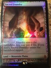 FOIL Sacred Foundry-Zendikar Expeditions-inglese (N-MINT +) * FULL ART *